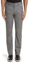 Canali Men's Regular Fit Herringbone 5-Pocket Pants