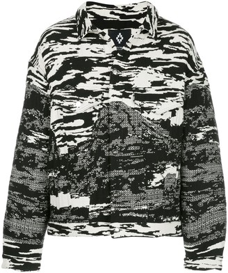 Marcelo Burlon County of Milan All-Over Print Shirt Jacket