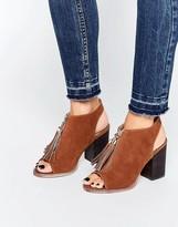 Miss KG Saana Tan Tassel Shoe Boots