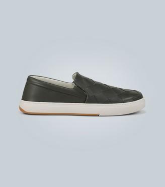 Bottega Veneta Sneakers in intrecciato leather