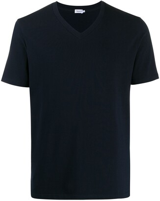 Filippa K V-neck roll hem T-shirt