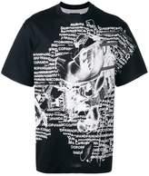 Nicopanda 'Nicopanic' negative print T-shirt