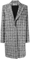Lanvin boxy tweed coat - women - Silk/Cotton/Acrylic/Viscose - 38
