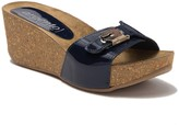 Cordani Aries Platform Wedge Slide Sandal