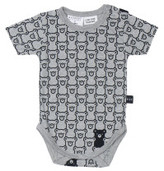 Huxbaby HIDE N SLEEK SHORT SLEEVE ONESIE (0M - 18M)
