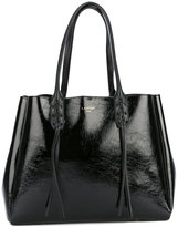 Lanvin fringed shopper tote - women - Calf Leather - One Size