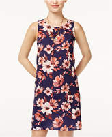 One Clothing Juniors' Floral-Print A-Line Dress