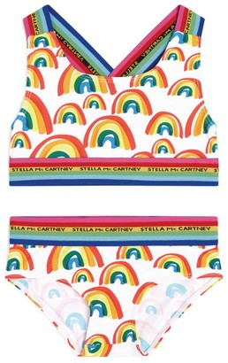Stella McCartney Rainbow Print Bikini