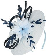 Powder blue fascinator