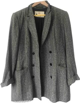 Aquascutum London Grey Jacket for Women Vintage
