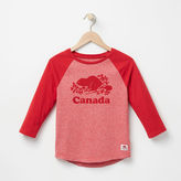 Roots Girls Canada Baseball T-shirt