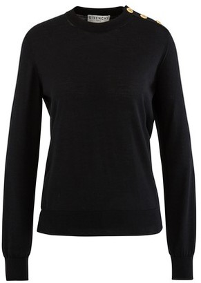 Givenchy Round neck jumper with buttons