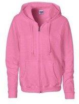 Gildan Heavy Blend Ladies Full Zip Hood Sweat / Sweatshirt Hoodie (S)