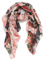 Sole Society Women's Abstract Print Scarf