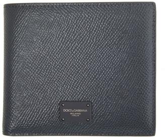 Dolce & Gabbana Grey Dauphine Bifold Wallet