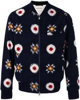 Universal Works blurred print bomber jacket - men - Cotton/Polyester - M