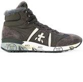 Premiata lace up ankle length boots
