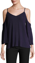 Bailey 44 Cold Shoulder Sweater Top