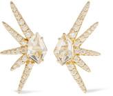 Alexis Bittar Gold-tone quartz earring