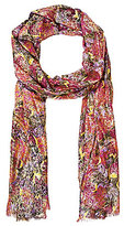 Patricia Nash Metallic Paisley Collection Scarf
