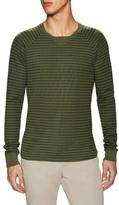 Velvet by Graham & Spencer Rogen Striped Sweatshirt
