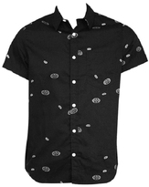 Bioworld Batman Logo Button-Up - Men's Regular