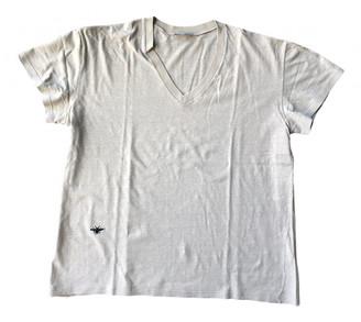 Christian Dior Beige Cotton T-shirts