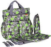 Yimidear Fashion Multifunctional Mommy Bag Sets Baby Diaper Changing Bag Nappy Bag Tote Shoulder Bag
