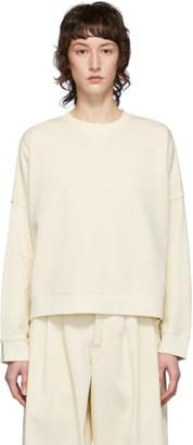 YMC Off-White Almost Grown Sweatshirt