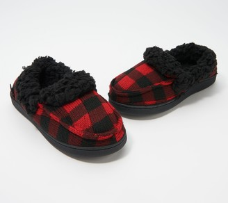 Muk Luks Kelly Slippers with Faux Shearling
