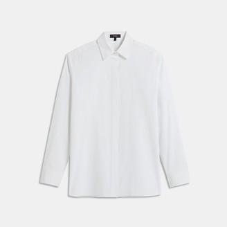 Theory Menswear Shirt in Good Cotton