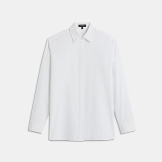 Theory Menswear Shirt in Good Cotton