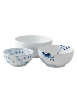 Royal Copenhagen History Mix Bowls (Set of 3)