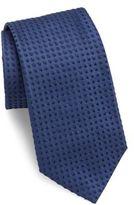 Giorgio Armani Square Knit Slim Silk Tie