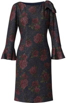Gina Bacconi Belanna Floral Print Dress