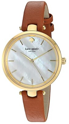 Kate Spade Holland Watch - KSW1156 (Luggage/Gold) Watches