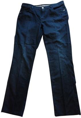 Armani Collezioni Blue Denim - Jeans Trousers for Women