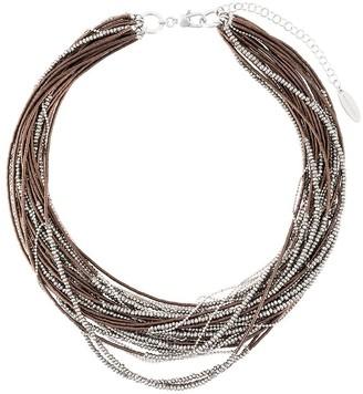 Brunello Cucinelli Beaded Multi-Strand Necklace