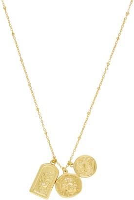 Ettika Talisman Pendant Charm Necklace