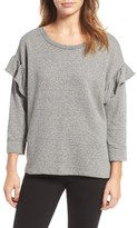 Current/Elliott Women's The Ruffle Sweatshirt