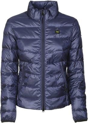 Blauer Logo Detail Zipped Padded Jacket