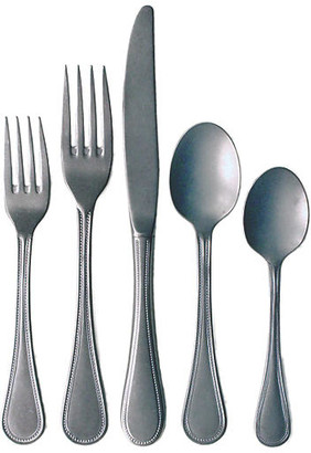5-Pc Coventry Place Setting - Silver - Farmhouse Pottery