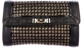 Anya Hindmarch Woven Leather Clutch