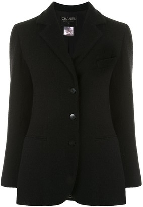 Chanel Pre Owned 1998 Buttoned Slim-Fit Jacket