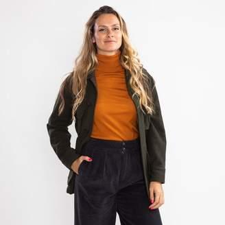Giacca Ottod'ame Ottod'Ame - Ottod Ame Olive Green Jacket - IT 40   UK 8
