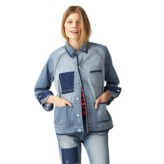 Kate Spade Saturday Lost Pocket Barn Jacket In Denim