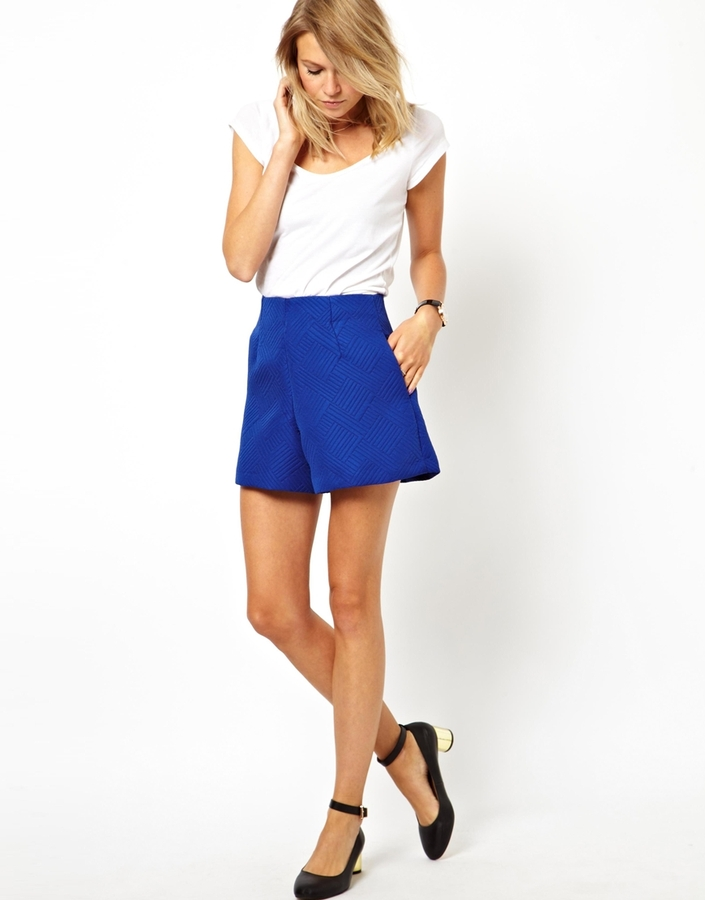 Asos Shorts in Ovoid Texture
