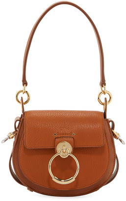 Chloé Tess Small Grained Leather Crossbody Bag