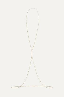 Jacquie Aiche 14-karat Gold Diamond Body Chain - one size
