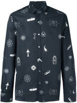 Lanvin 'Mystic' print shirt